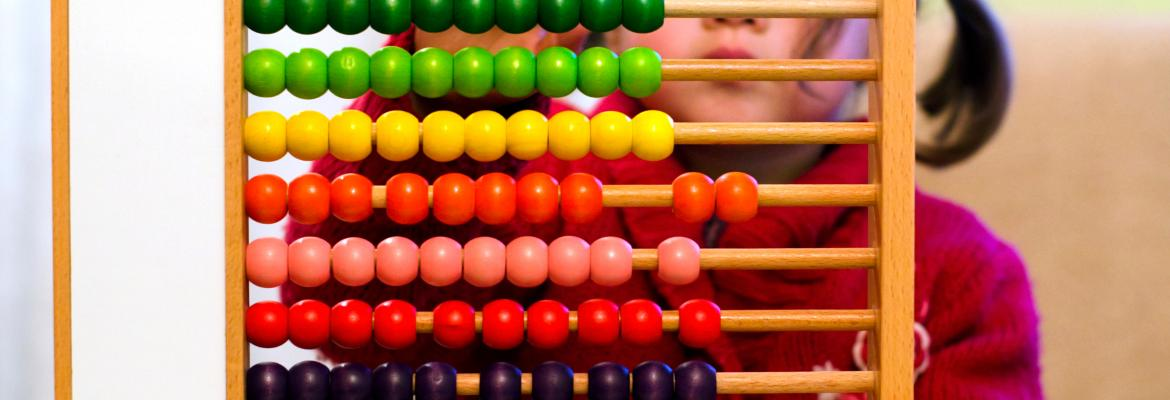 Playing with an abacus